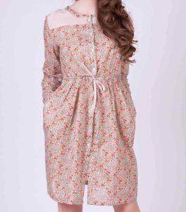Пошив летнего платья-рубашку